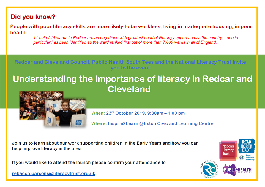 Understanding the importance of literacy in Redcar and Cleveland